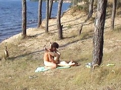 wtfpass.com Couple in sex outdoor Yeah, we like spending time together, there is nothing strange about it. We are not only the hot amateur couple, we are loving people so today we are going to spend the day only with each other and nobody else. We go to the bank of the lake and my hot girlfriend demonstrates me her new bikini. It's nice, but I must confess she looks much better without it. I and my GF bathe in the cool water, get suntanned all naked and then heavily fuck getting the new sex experience. Our camera shoots everything on this couple sex video.video